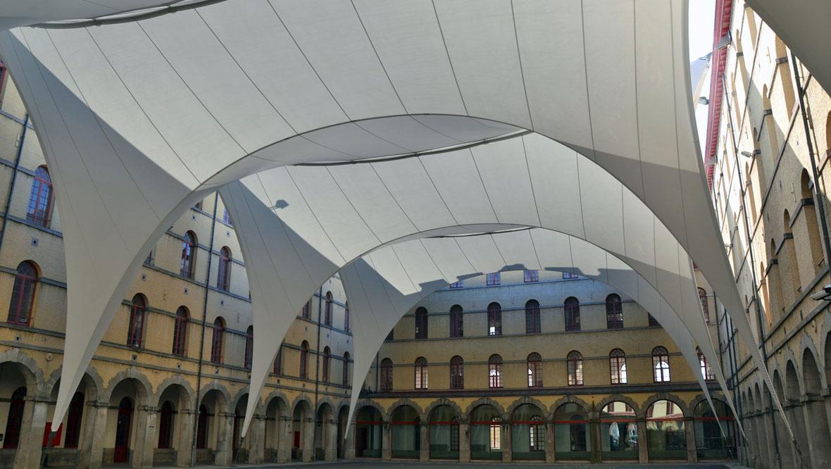 Tentech Lichtgewicht Overkapping Museum Mons