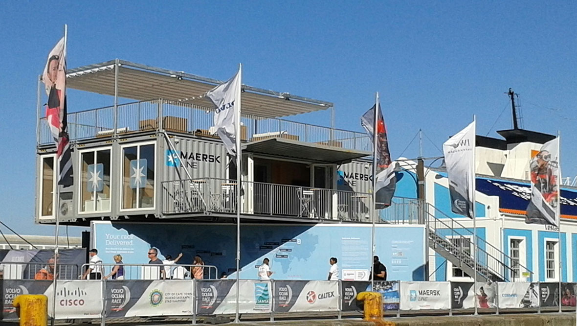 Maersk Paviljoen Volvo Ocean Race 2014-2015