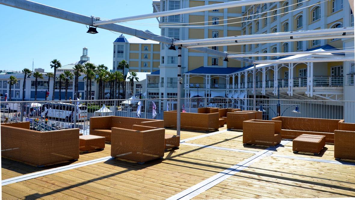 maersk paviljoen volvo ocean race 2014 2015 tentech. Black Bedroom Furniture Sets. Home Design Ideas