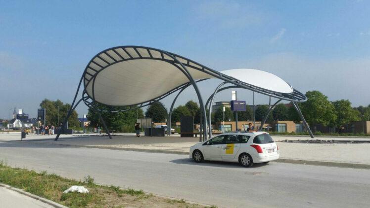 Tentech Advies Lichtgewicht Bouwen Busstation Bree