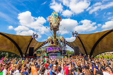 Festivaltent Tomorrowland