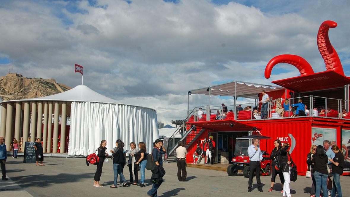 Puma Pavilion Container Setup